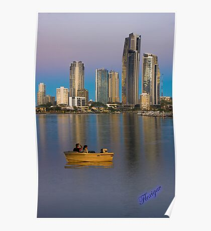 Gold Coast city lifestyle Poster