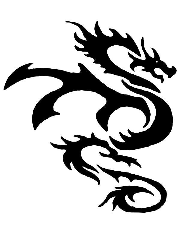 dragon outline - Dragon Outline
