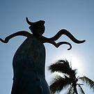 Dancing Palmtree by richard  webb