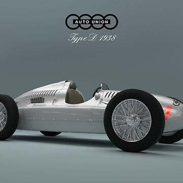 Auto Union Type D by kaipehkonen