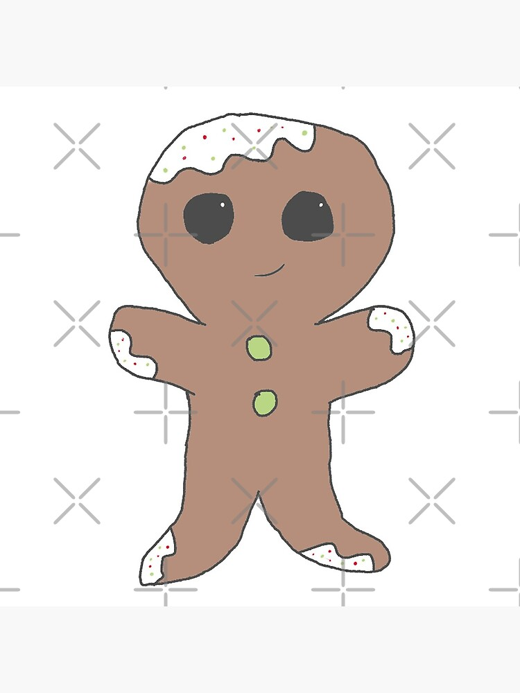 Gingerbread man by lokisart
