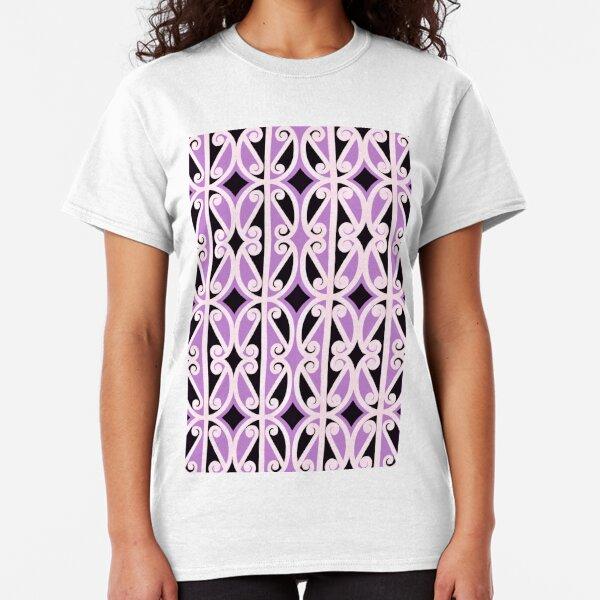 simple purple repeat  Classic T-Shirt