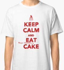 Keep Calm and Eat [Royal Wedding] Cake | Red Classic T-Shirt