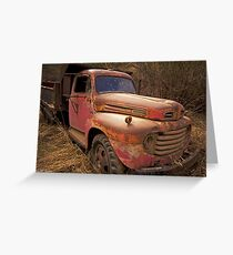 Retired to the Country Greeting Card
