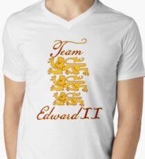 Team Edward II Mens V-Neck T-Shirt