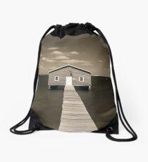 The Boatshed Drawstring Bag