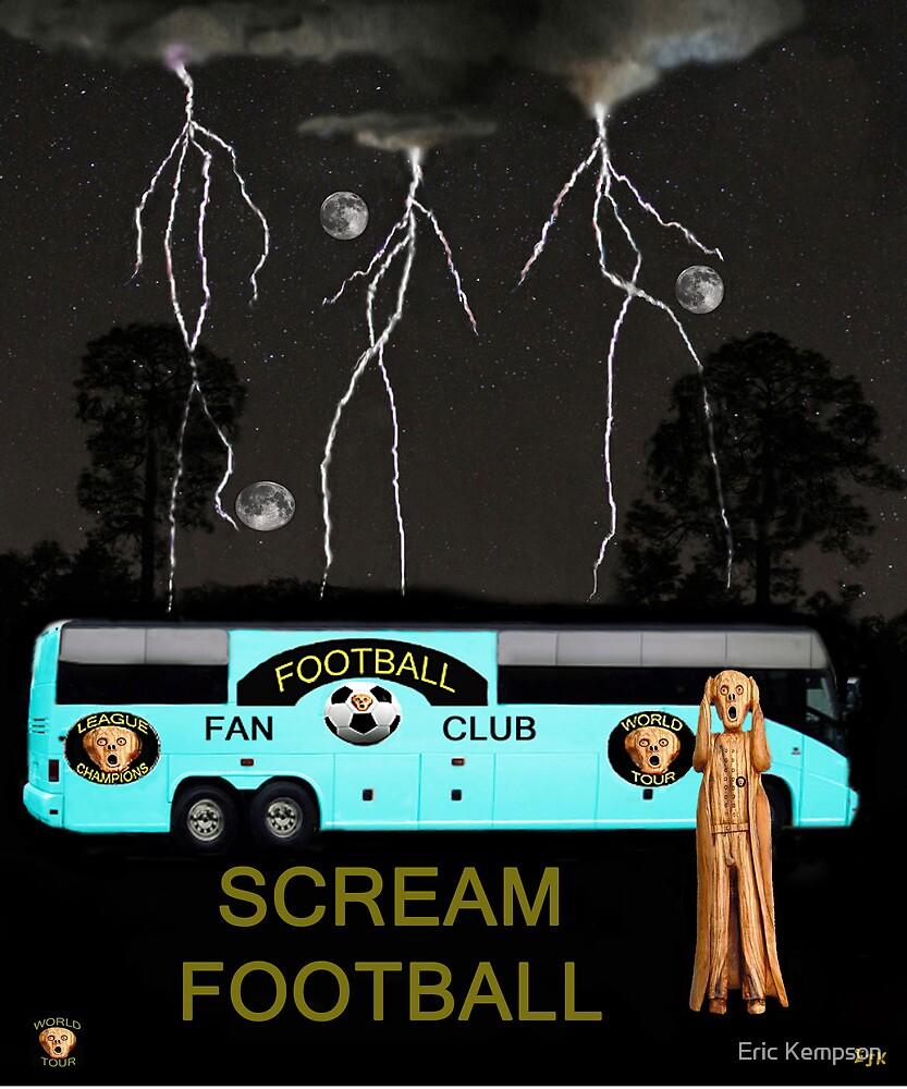 Football Tour Scream by Eric Kempson