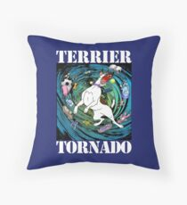 Terrier Tornado Floor Pillow