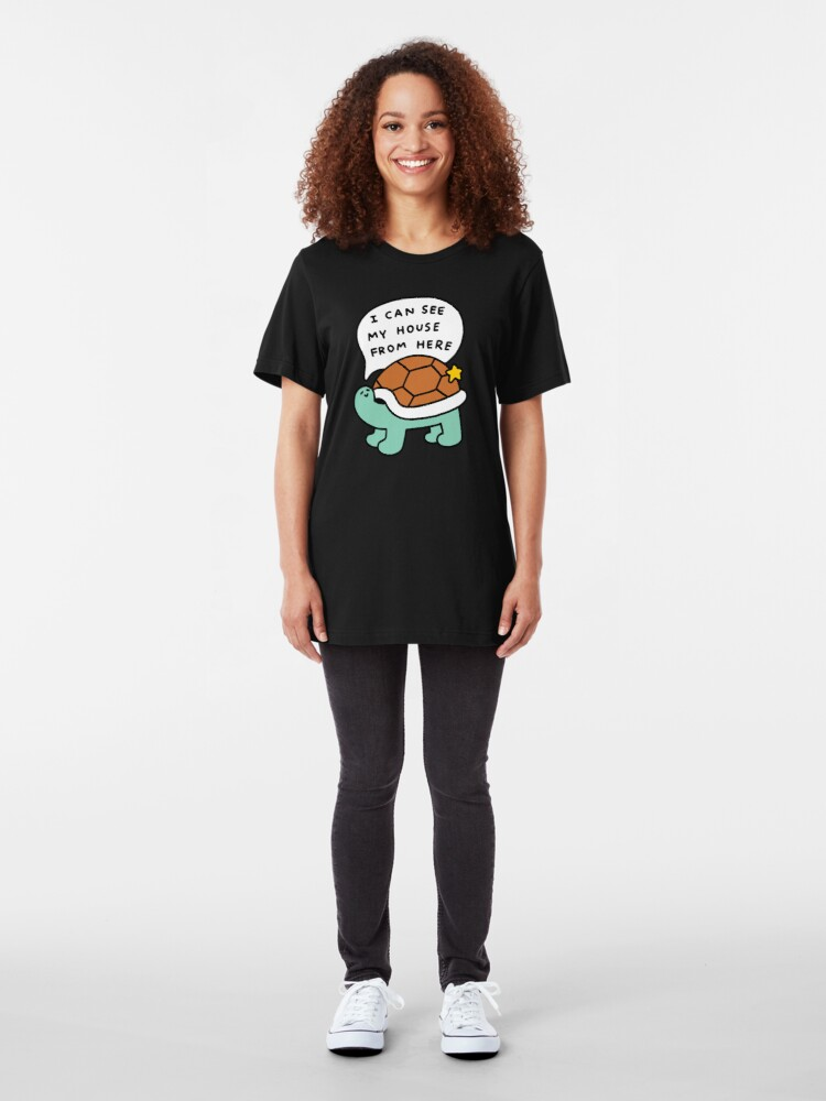 Alternate view of Turtle House Slim Fit T-Shirt