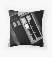 TARDIS Throw Pillow