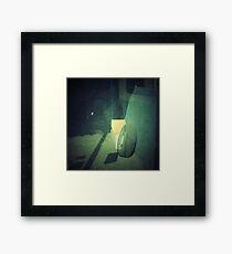 mon - sat 8.30 till 5.00 Framed Print