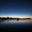 Wellington Point, Qld, sunrise Feb 2010 by Odille Esmonde-Morgan