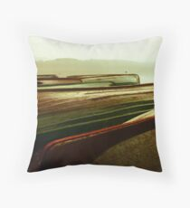 Mysteries of Boats & Lochs  Throw Pillow