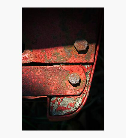 Wagon Hitch Detail Photographic Print