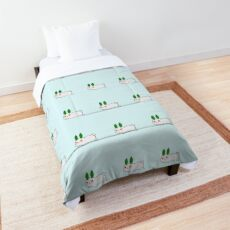 Snow Bunny Comforter