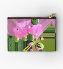 Dew Drops on the Rose Zipper Pouch