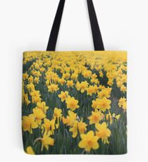 A field of Daffodils Tote Bag
