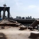 Another ledge view of Brooklyn bridge by contradirony