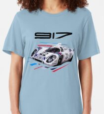 Vintage 917K Endurance Race Car Slim Fit T-Shirt