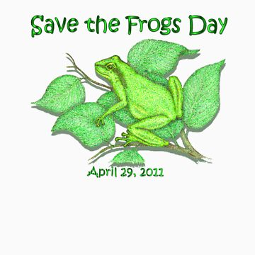 Save the Frogs by artbyjehf