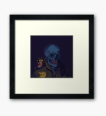Bloody Nose McGee Framed Print