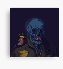 Bloody Nose McGee Canvas Print