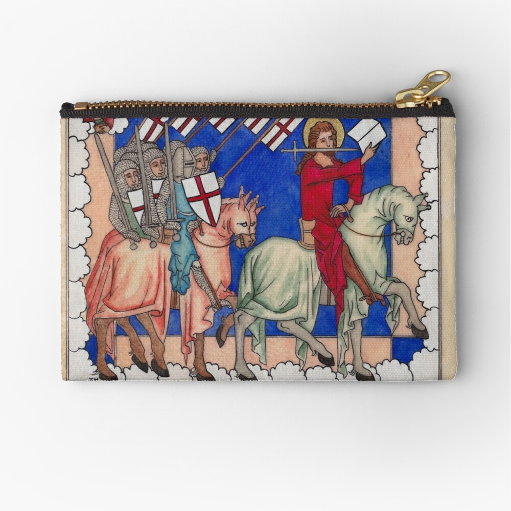Medieval Crusaders Zipper Pouch