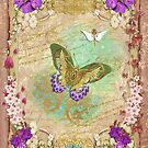 Steampunk Whimsical Butterfly by PurplePeacock