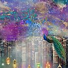 Whimsical Peacock Fantasy Art by PurplePeacock