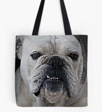 Mad Max - Cute Bulldog with grumpy face Tote Bag