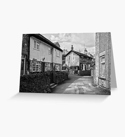 Village Cottages, Castleton Greeting Card