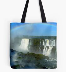 rainbow at Iguassu Falls Tote Bag