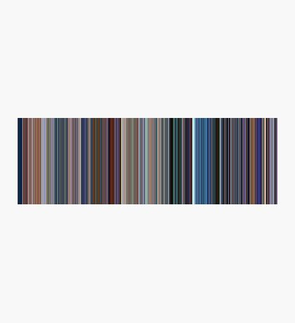 Moviebarcode: Monsters, Inc. (2001) [Simplified Colors] Photographic Print