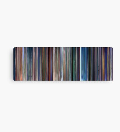 Moviebarcode: Monsters, Inc. (2001) Canvas Print