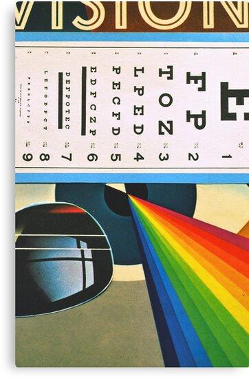 The Horizontal Eye Test. by Andy Nawroski