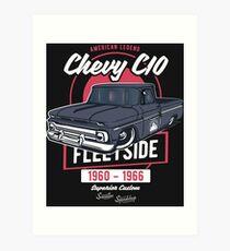 Chevy C10 - American Legend Kunstdruck