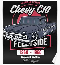 Chevy C10 - American Legend Poster
