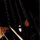 Swings Carousel - Peckham Rye Park by Victoria limerick