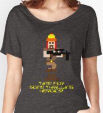 Firefly 8 Bit Thrilling Heroics Women's Relaxed Fit T-Shirt