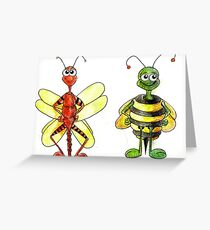 Dibble and Dabble Greeting Card