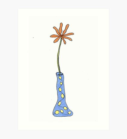I wonder what happens if you drink from this vase... Art Print
