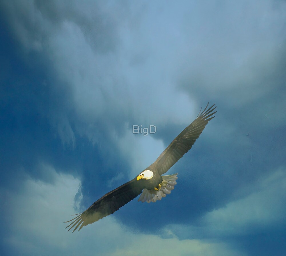 Coming Through The Clouds by BigD