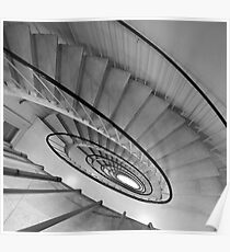 Fairlie Staircase Poster
