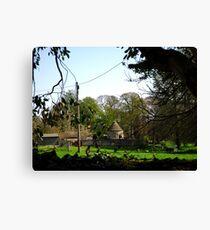 Springtime in Cranford St Andrew Canvas Print