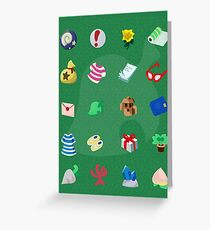 Animal Crossing: Your Pockets Are Full Greeting Card
