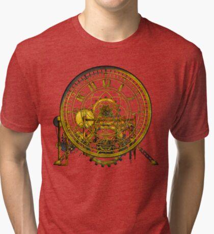 Vintage Time Machine #1C Tri-blend T-Shirt