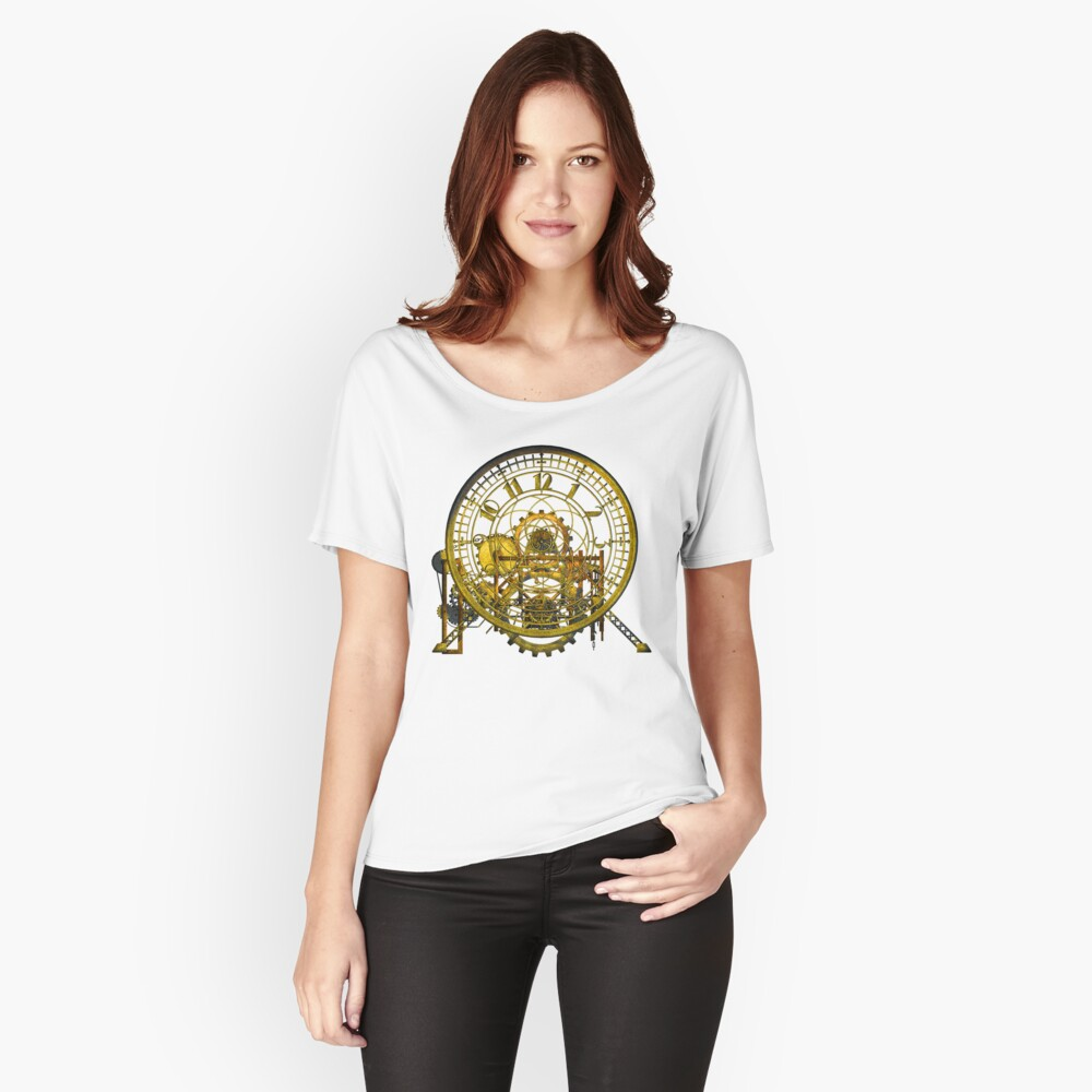 Vintage Time Machine #1C Relaxed Fit T-Shirt