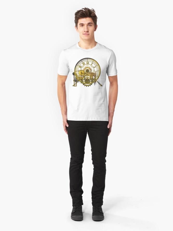 Alternate view of Vintage Time Machine #1C Slim Fit T-Shirt