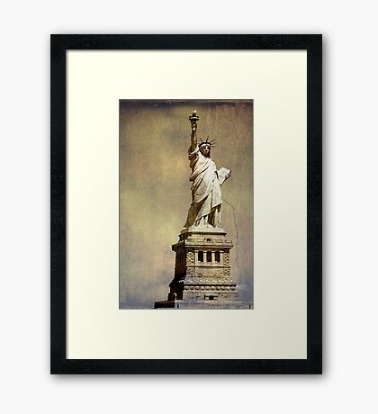 Statue of Liberty ©  Framed Print