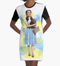 Dorothy Gale watercolors Graphic T-Shirt Dress